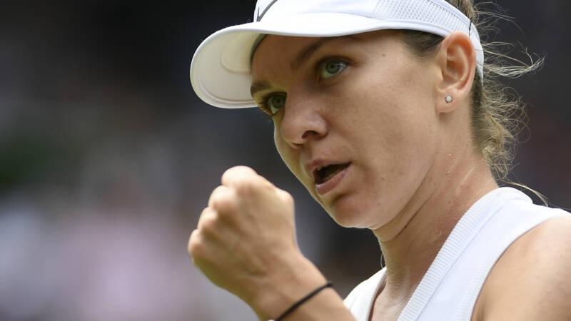 Superieure Halep dendert naar eerste Wimbledon-finale