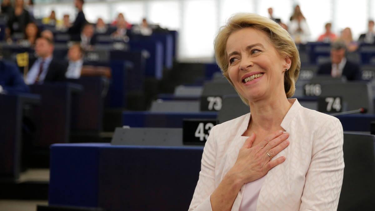 Ursula von der Leyen is de nieuwe voorzitter van de Europese Commissie
