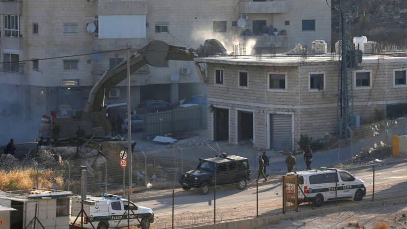 Israël zet sloop gebouwen door in Palestijnse wijk Oost-Jeruzalem