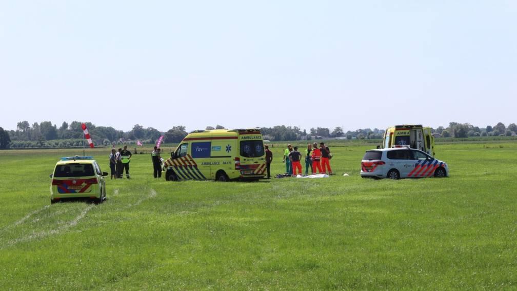 Bekijk details van Parachutist omgekomen op vliegveld Teuge