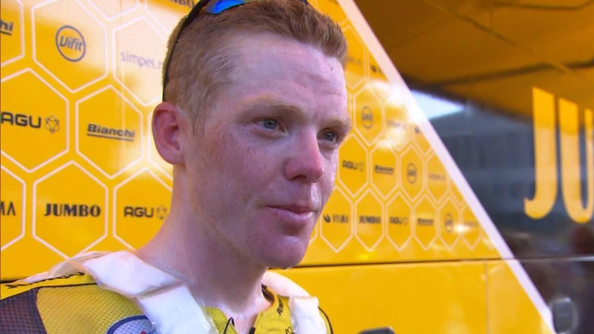 Kruijswijk kritisch na hete dag: 'Code oranje geldt niet in Tour, apart'