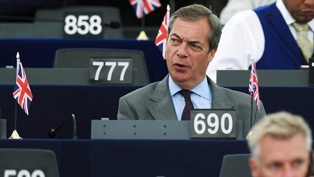 Bekijk details van Farage: snelle brexit alleen mogelijk met vervroegde verkiezingen
