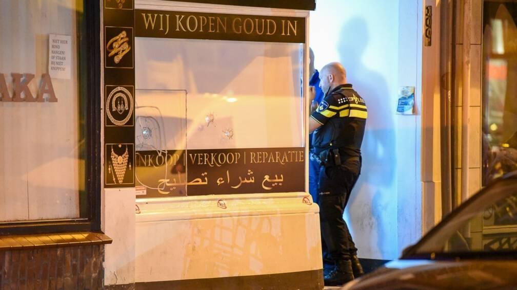 Bekijk details van Utrechtse juwelier opnieuw beschoten