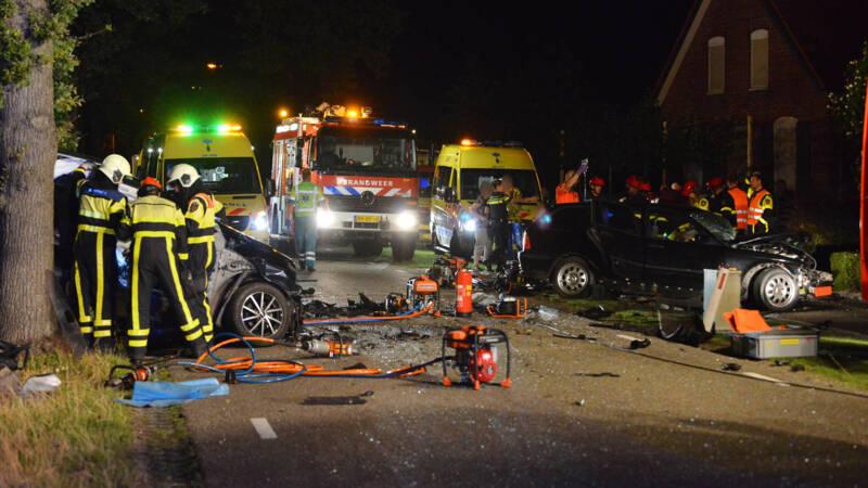 Dode en gewonden bij aanrijding in West-Brabant.