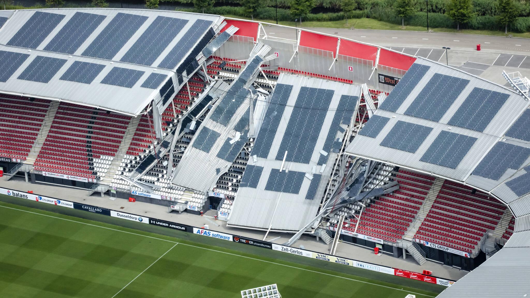 Constructeur Az Stadion Zonnepanelen En Fouten Bij Bouw