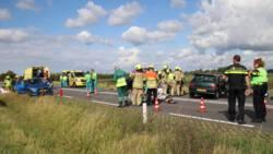 Zestien gewonden bij auto-ongeluk in Zeeland.