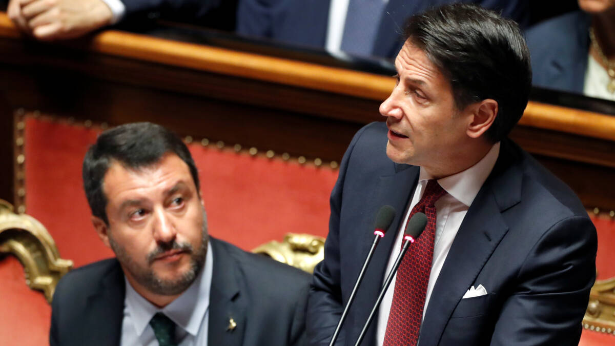 Politieke crisis Italië: premier Conte stapt op, regering valt