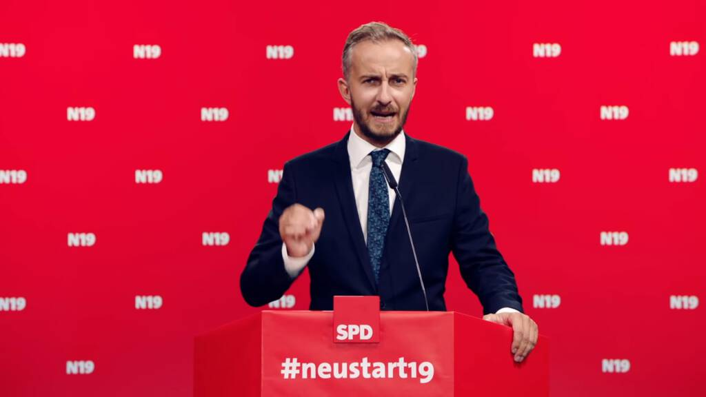 Duitse Komiek Böhmermann Van De Erdogan Satire Wil Spd