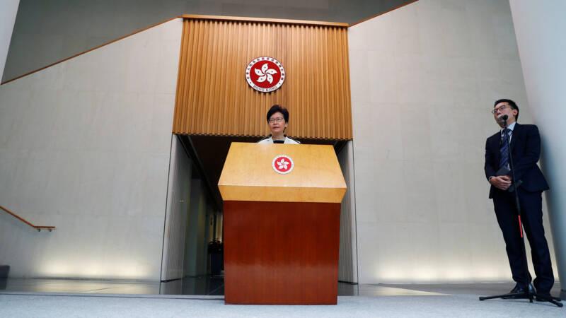 'Hongkong Mocht Omstreden Uitleveringswet Niet Intrekken