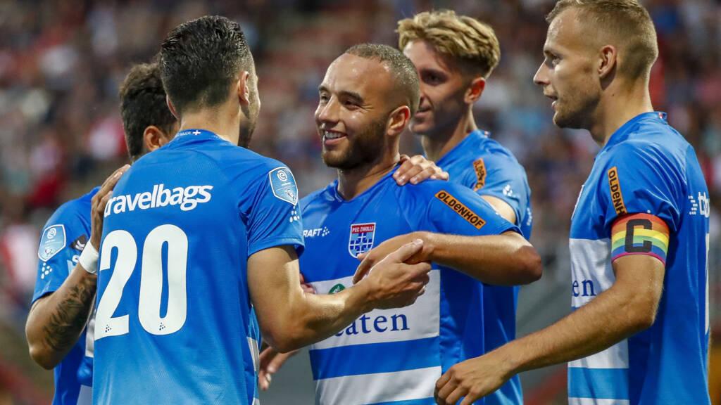 Pec Zwolle Profiteert Optimaal Van Plotselinge Inzinking Bij Emmen Nos