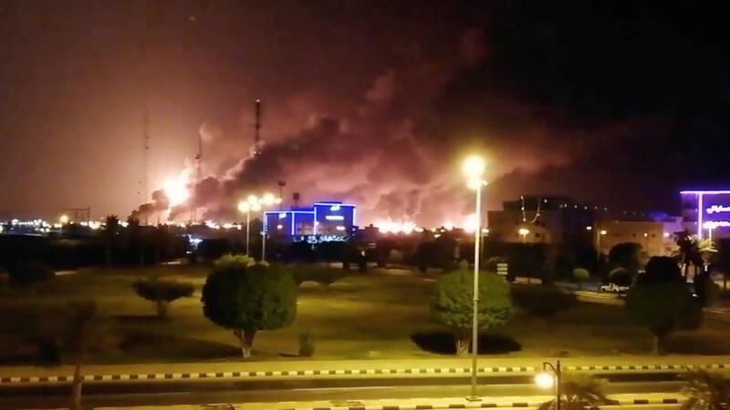 Iran ontkent betrokkenheid bij aanval op Saudische olie-installatie