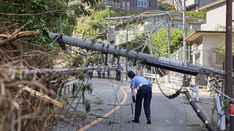 Kritiek op Japans herstelwerk na orkaan: 45.000 huizen nog zonder stroom