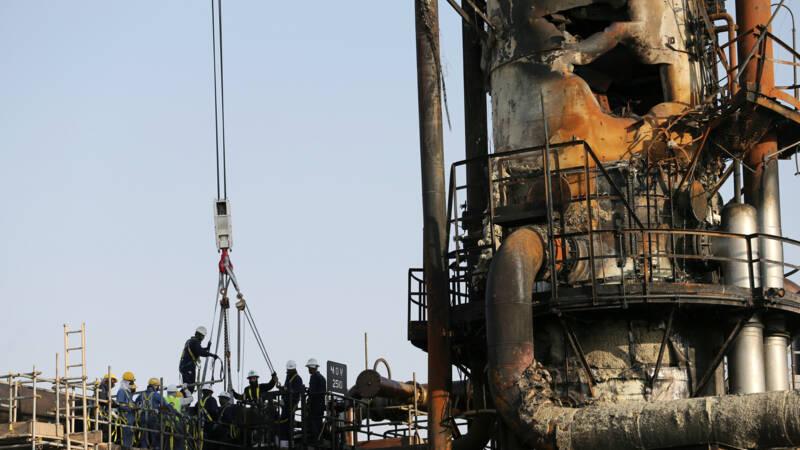Oliebedrijf laat brokstukken na aanval zien: 'productie snel weer op peil'