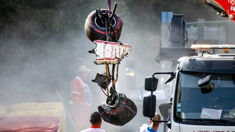 Formule 2-coureur Correa uit kunstmatig coma na crash op Spa