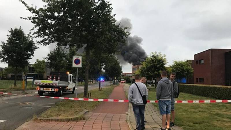 Fabriek aanmaakblokjes in Oisterwijk stilgelegd na branden