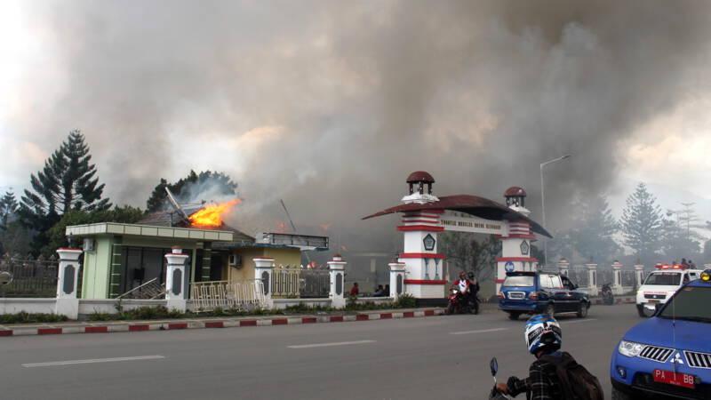 Zeker 20 doden bij hevige onlusten in Papoea