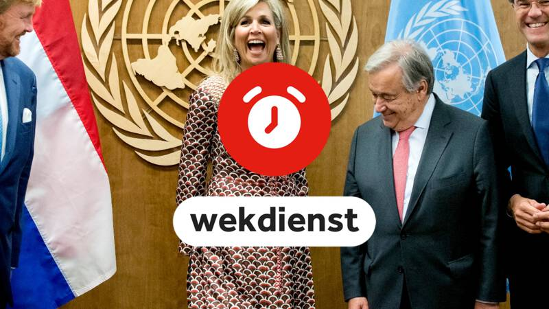 Wekdienst 25/9: presentatie stikstofrapport en Máxima viert VN-jubileum