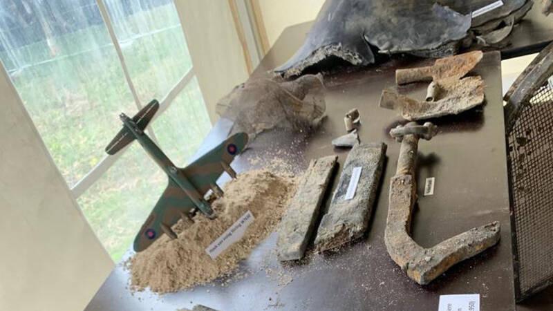 Geen stoffelijke resten gevonden bij berging bommenwerper in Echt