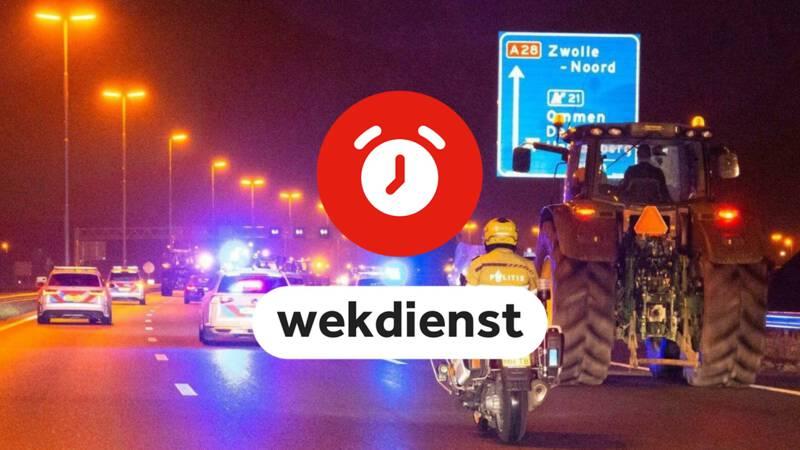Wekdienst 1/10: boerenprotest in Den Haag en voor het eerst E10 tanken
