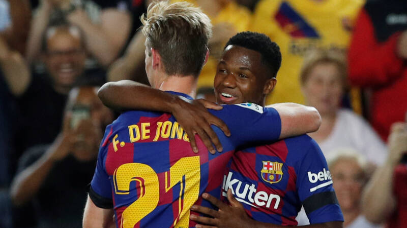 Frenkie en Fati, hoop in bange dagen bij weifelend FC Barcelona
