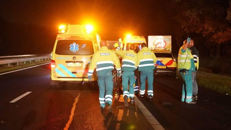 Slachtoffer ongeval A2 overleden, gevluchte chauffeur gepakt.