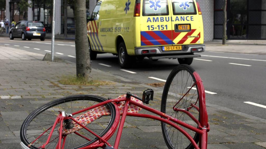 Meer zware ongelukken met fietsers.