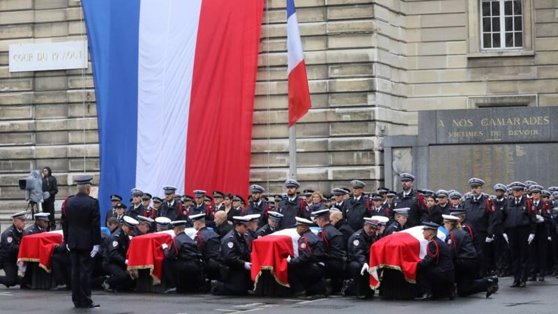 Vijf arrestaties in verband met dodelijke steekpartij politiebureau Parijs
