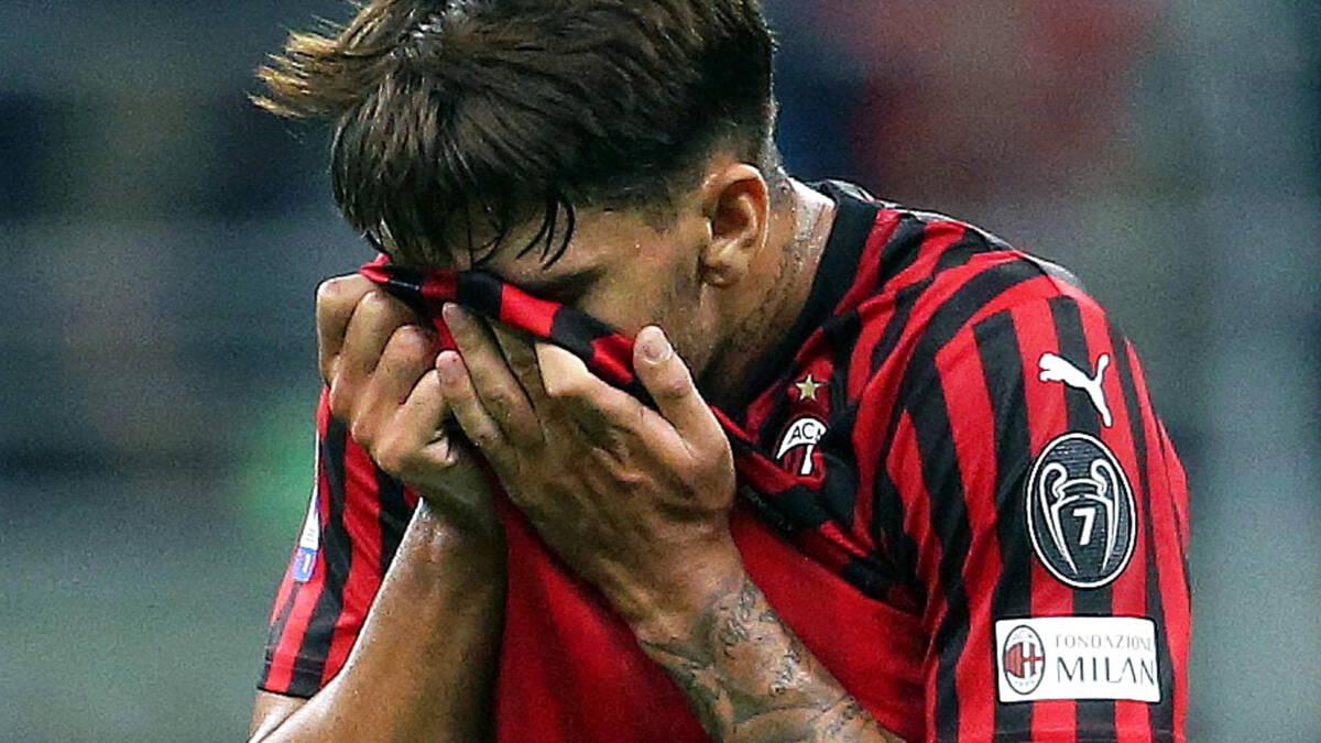 Voetbalbolwerk AC Milan in verval: 'Situatie te wijten aan mismanagement'