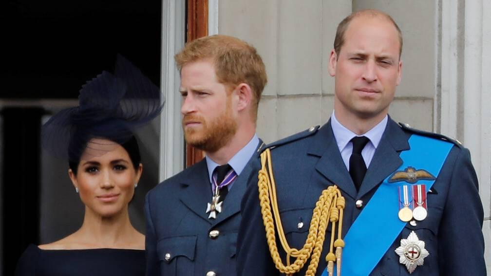 'Prins William uit zorgen over Harry en Meghan na zien documentaire'
