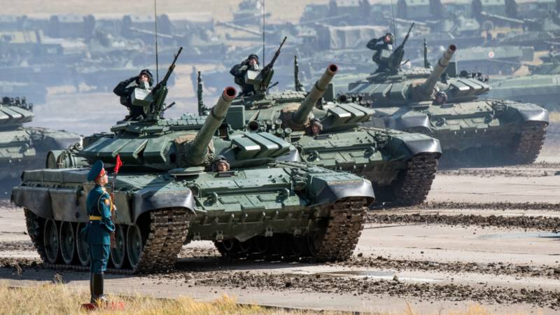Militair Rusland schiet acht collega's dood