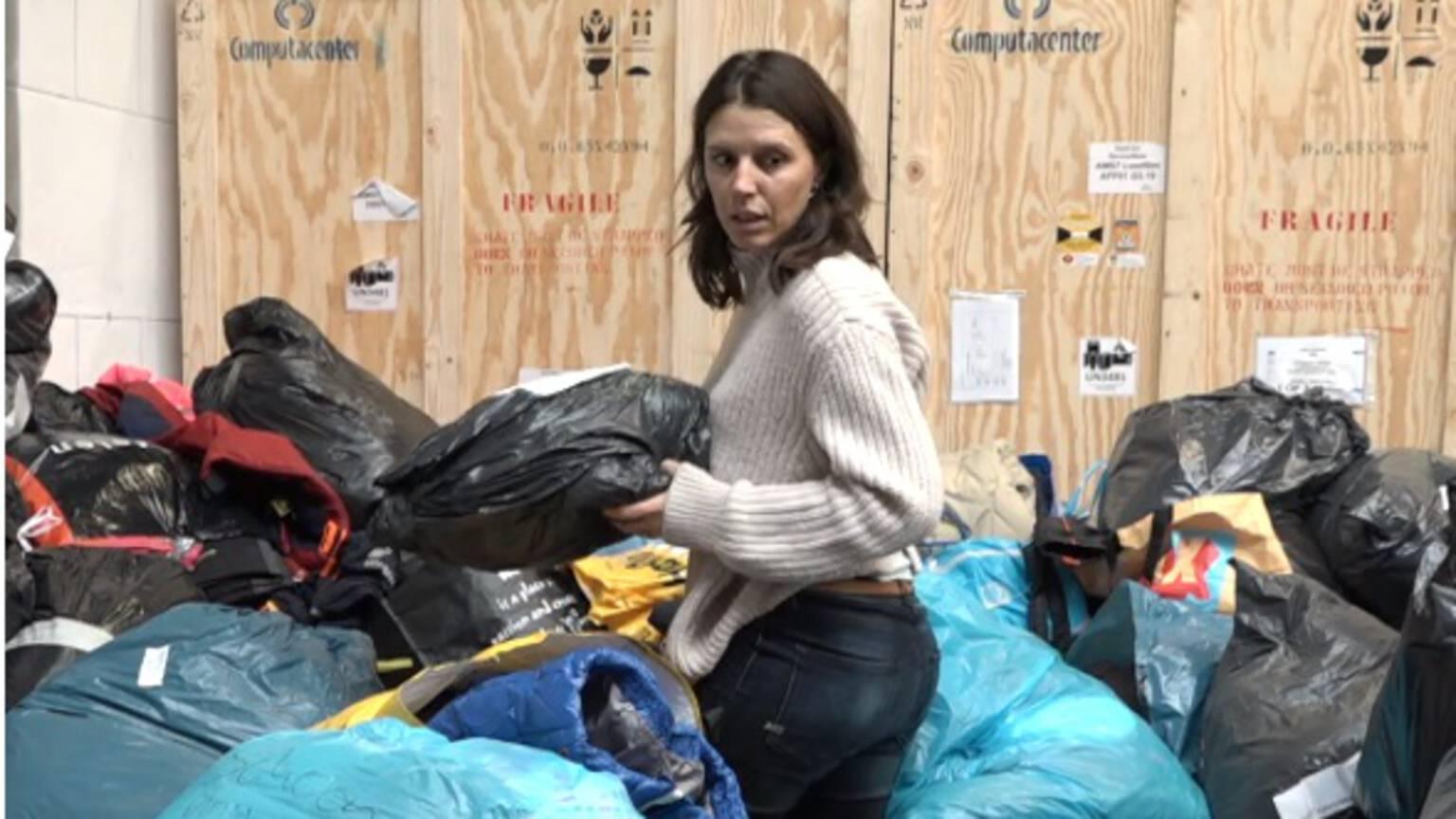 Duizenden winterjassen ingezameld voor vluchtelingen in