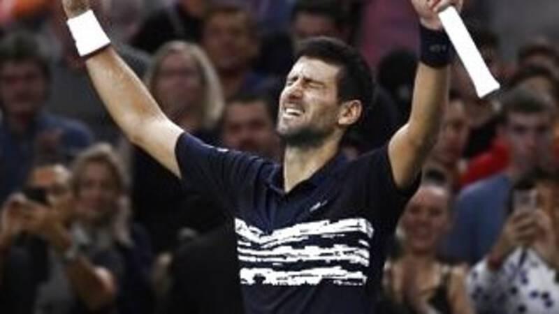 Djokovic reist met 34ste masterstitel van Parijs naar ATP Finals