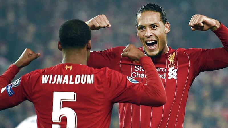 Wijnaldum helpt Liverpool aan zege, ook Depay scoort voor winnend Lyon - NOS