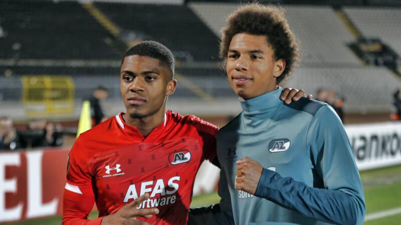 AZ-talenten Boadu en Stengs debuteren in Oranje-selectie