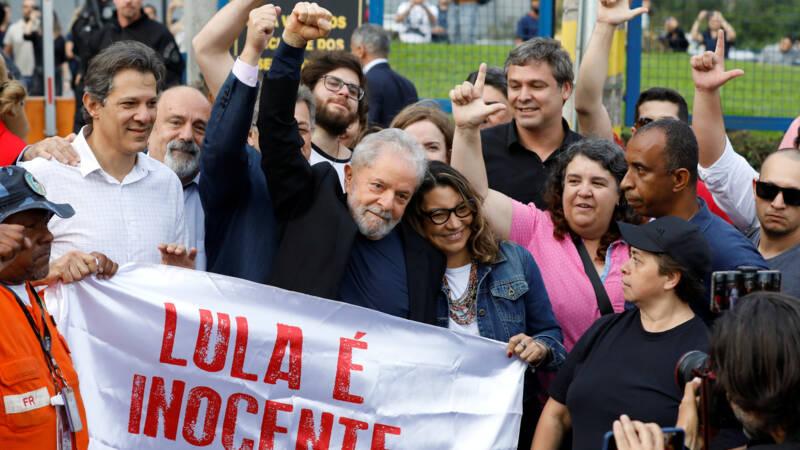 Braziliaanse oud-president Lula en 5000 anderen vrij op last van rechter - NOS
