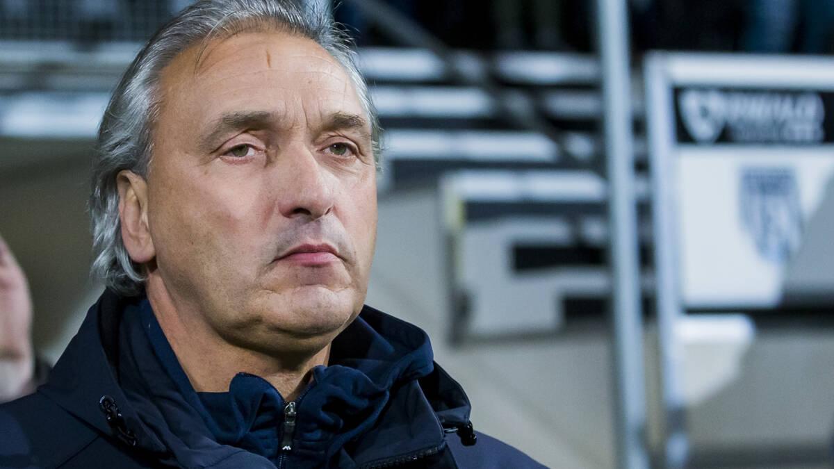 VVV-Venlo ontslaat trainer Maaskant: 'Geen vertrouwen meer in Robert'