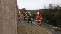 Zeker 12 doden bij busongeluk in Slowakije.
