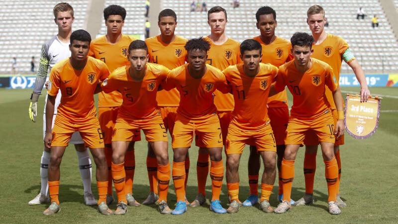 'In dit Oranje onder 17 zitten een paar die het grote Nederlands elftal gaan halen' - NOS