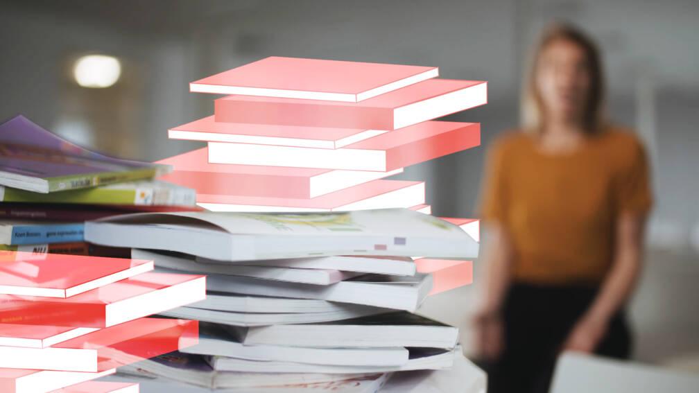 Mbo'ers blijven toch zitten met ongebruikte schoolboeken
