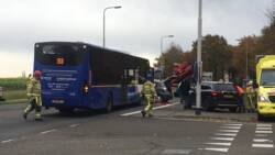 Politie verklaart man te vroeg dood na verkeersongeval.