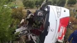 17 doden bij busongeluk in Marokko.