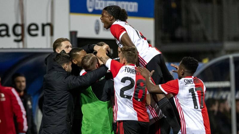 Knvb Beker Zwak Feyenoord Op Valreep Langs Cambuur Ook Utrecht Door Nos