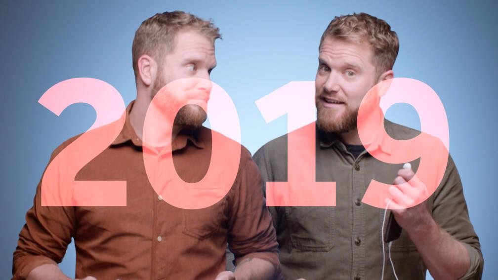 De twee gezichten van 2019 (doe je oortjes in)