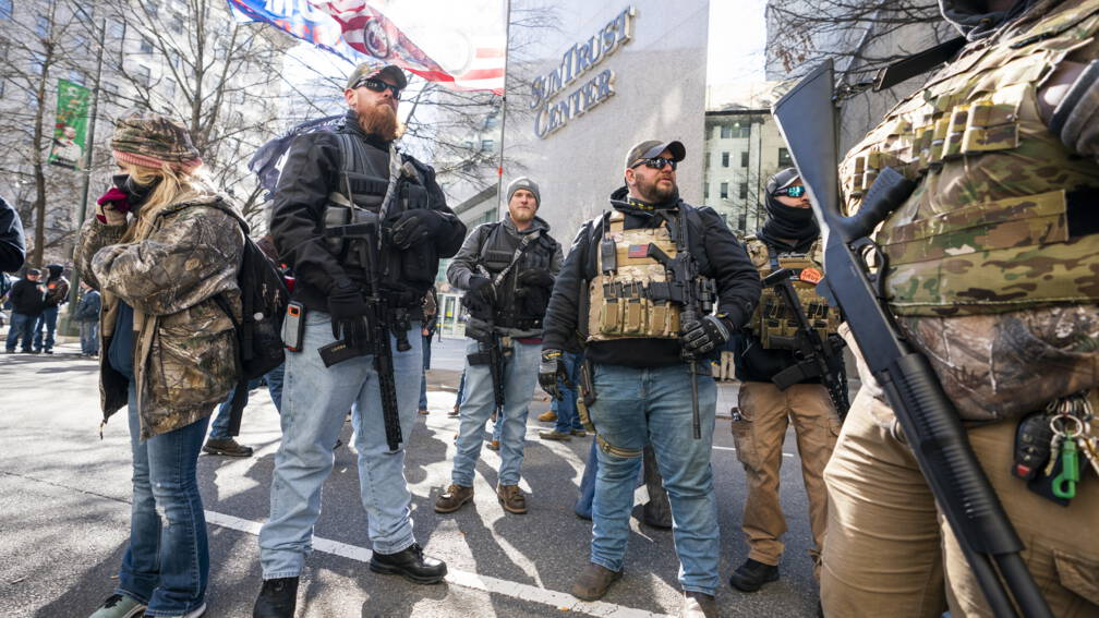 Bekijk details van Duizenden Amerikanen demonstreren tegen strenge wapenwetten