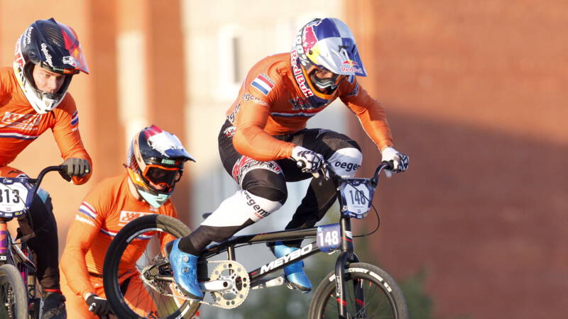 Zware blessure BMX'er Van Gendt: 'Plaatsing Tokio wordt race tegen de klok'