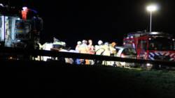 Twee ongelukken kort na elkaar op N34 bij Emmen, zeker vijf gewonden.