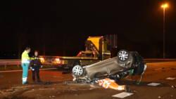 A2 bij Liempde dicht na ongelukken.