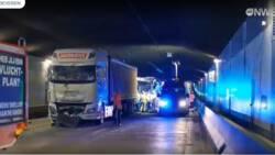 Ravage in tunnel Antwerpen na dodelijk verkeersongeluk.