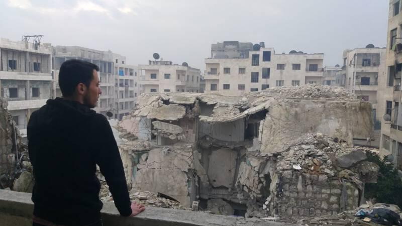 Verhalen uit bezet Idlib: 'Er is geen hoop meer op leven hier'