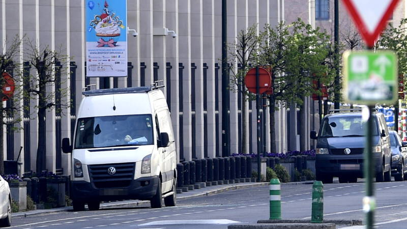 Thieves caught with bags full of money in central bank in Brussels